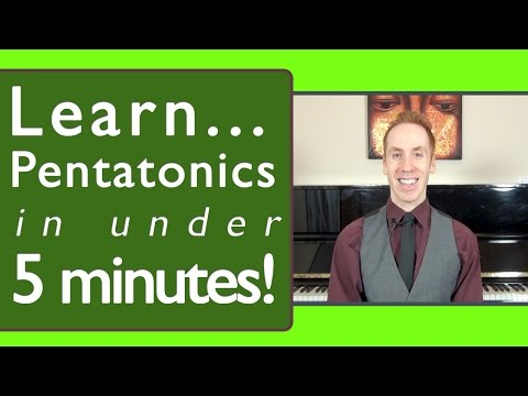Pentatonic Scale Piano Made Easy