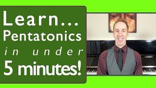 Pentatonic Scale Piano Made Easy