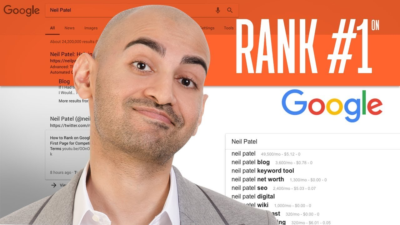 Rank #1 on Google Using 7 Free SEO Tools