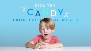 Kids Try: Candies From Around The World   Kids Try   Cut