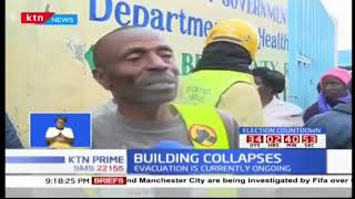 Search for more survivors continues after building collapses in Kapsabet town