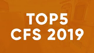 Top 5 Plays [Ft. CFS 2019 Group Stage - Semifinals]