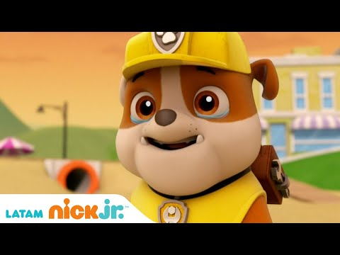 Paw Patrol, Patrulla de cachorros | Lo Mejor de Rubble - parte 1 | Nick Jr. en Español