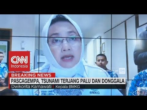 BMKG: Pascagempa, Tsunami Terjang Palu & Donggala