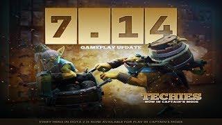 Dota 2 Gameplay Update 7.14 Patch Analysis