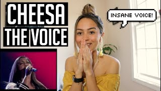 Cheesa (The Blind Auditions - The Voice) REACTION