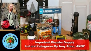 Disaster Preparedness Supply List: What You Really Need