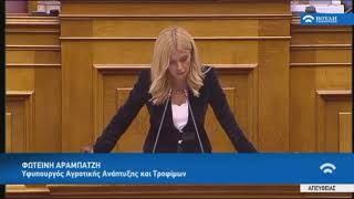 Ομιλία στη συζήτηση για τον Κρατικό Προϋπολογισμό