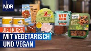 Die Tricks mit vegetarisch und vegan | Die Tricks | NDR