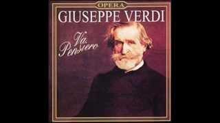 1842 GIUSEPPE VERDI - Nabucco - Va, Pensiero