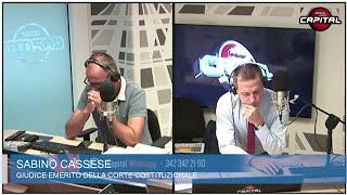 """Cassese a Circo Massimo: """"Riforma legittima difesa incostituzionale. Condoni incentivo a evadere"""""""