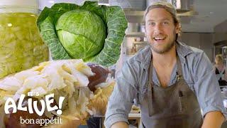 Brad Makes Sauerkraut | It