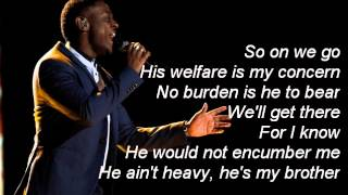 Damien-He Ain't Heavy, He's My Brother-The Voice 7[Lyrics]