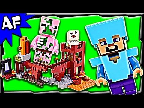 Vidéo LEGO Minecraft 21122 : La forteresse du Nether