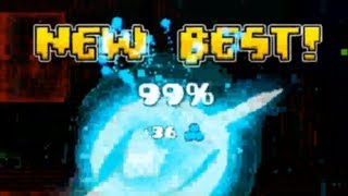 All My Fails Past 90% In Geometry Dash ~ Rage Compilation