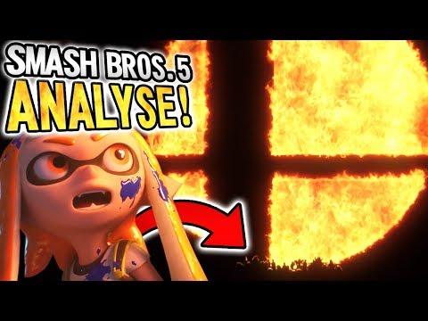 🔥 SMASH BROS 5. Nintendo SWITCH TRAILER ANALYSE!! 🔥
