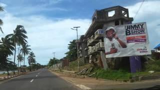 Beautiful Scenery Freetown Sierra Leone