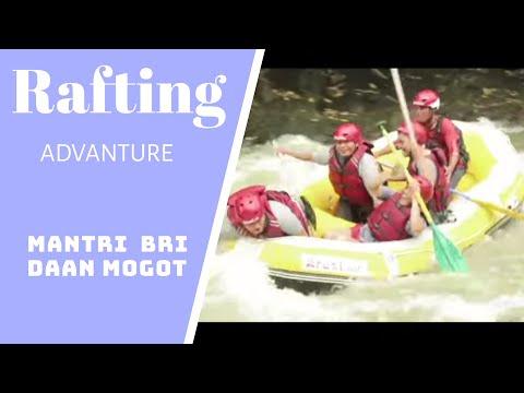 Rafting Mantri BRI Daan Mogot perahu terbalik