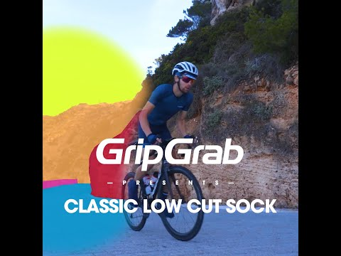 GripGrab sommer sok low cut sort video