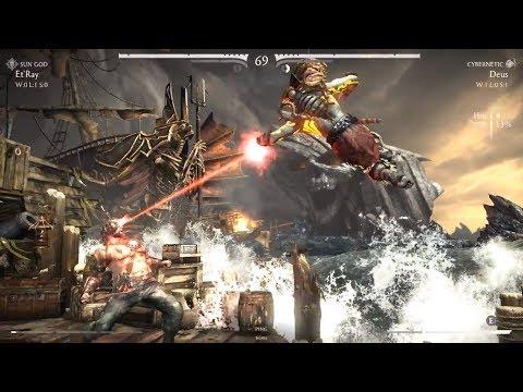 Et'Ray (Kotal Kahn - Sun God/WarGod, Kenshi/Possesed) vs