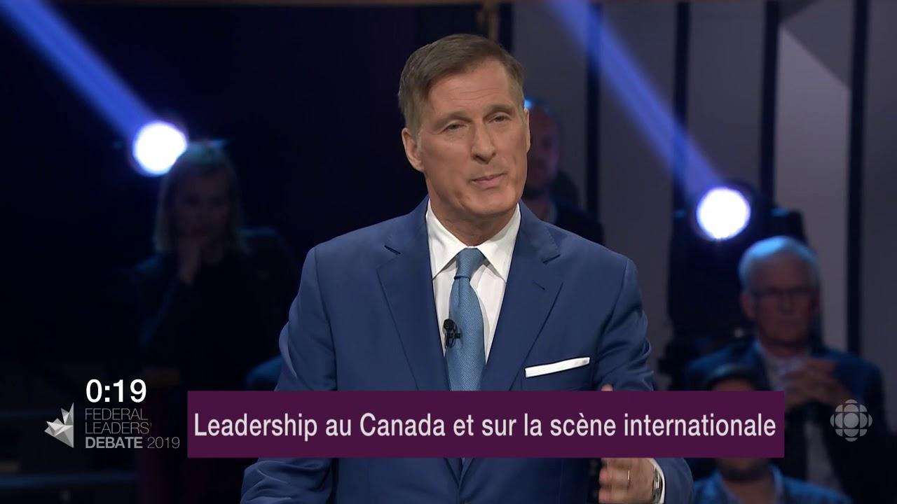 Maxime Bernier répond à la question d'un citoyen sur les relations avec les provinces