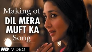 Dil Mera Muft Ka Song Making - Agent Vinod