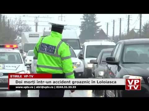 Doi morți într-un accident groaznic în Loloiasca