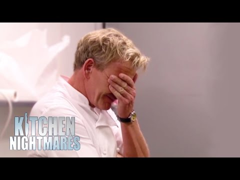 'You Don't Microwave a Salad' - Kitchen Nightmares