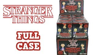 Stranger Things Funko Mystery Minis Blind Box Full Case Unboxing Opening Entire Case