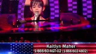 <b>Kaitlyn Maher</b>  Ill Be There Mariah Carey  Americas Got Talent  3