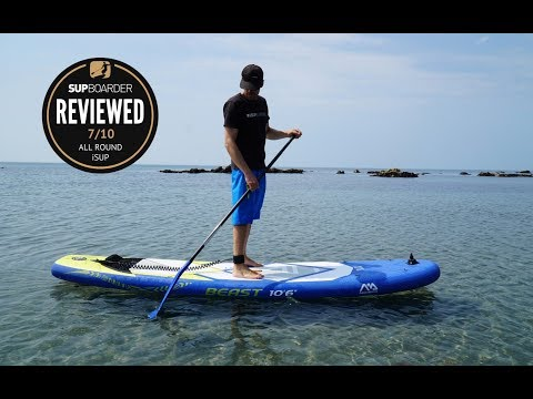 "Aqua Marina Beast 10'6"" all round iSUP review"
