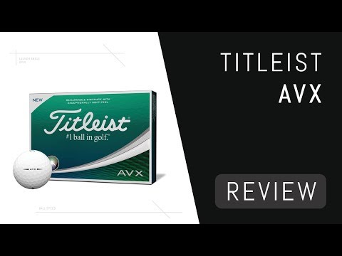 Titleist AVX Ball Review