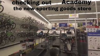 Doctor visit # 5 and New Academy sporting goods store!!!