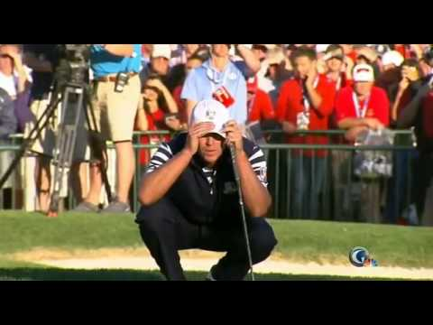 Europe wins 2012 ryder cup