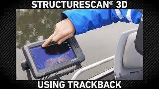 StructureScan 3D Using TrackBack