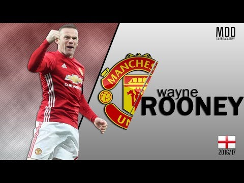 Wayne Rooney | Manchester United | Goals, Skills, Assists | 2016/17 - HD