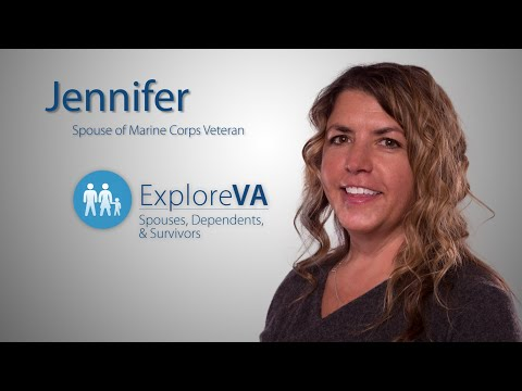 VA benefits help Jennifer and her family live better.