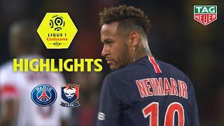 Paris Saint-Germain - SM Caen ( 3-0 ) - Highlights - (PARIS - SMC) / 2018-19