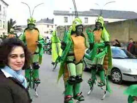 Saltamontes de Mondoñedo Carnaval 2007
