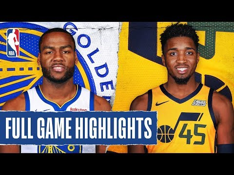 WARRIORS at JAZZ | FULL GAME HIGHLIGHTS | December 13, 2019