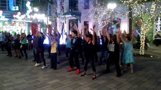 Katie & Blake's Proposal Flash Mob   The LINQ Las Vegas   3 13 15