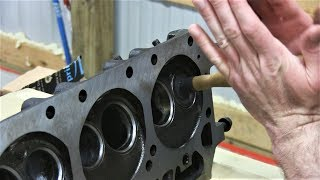Mopar 440 Engine Build Part 10 - Resurfacing Cylinder Heads