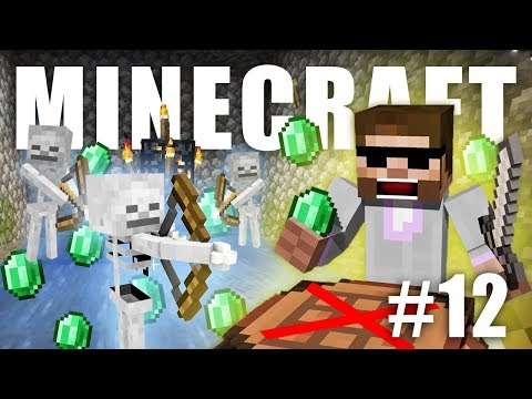SKELETON FARMA A HROMADA EMERALDŮ | NoCraft #12