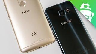 ZTE Axon 7 vs Samsung Galaxy S7