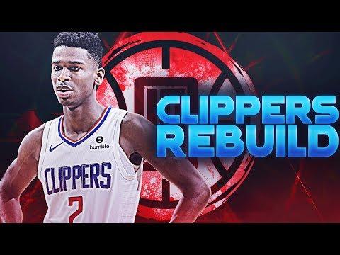 95+ Superstar Signs! LA Clippers Elimination Rebuild | NBA 2K19