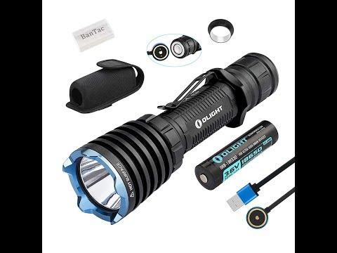 heftig hell und stabil Olight Warrior X Tactical Taschenlampe 2000 Lumen / 560 Meter Cree XHP35