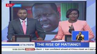 President Uhuru's appointment of interior cabinet Secretary Dr. Matiang'i elicits mixed reactions