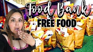 PANDEMIC FOOD BANK HAUL//#FOODBANKHAUL//#FREEFOOD