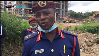 VIDEO: More bodies recovered from Abuja building collapse