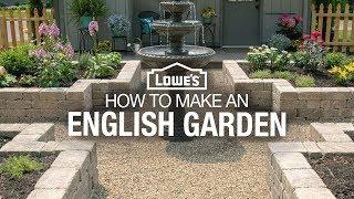 How To Make A Garden | English Garden Design Ideas